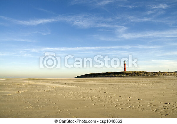 landscape with lighthouse - csp1048663