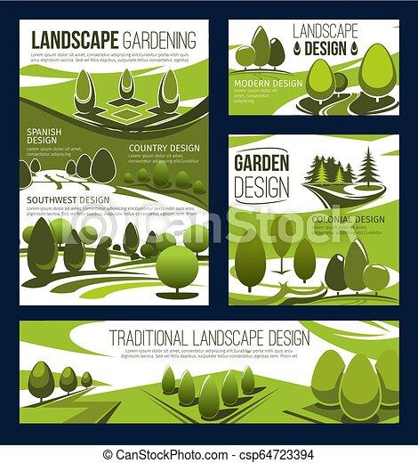 Landscaping Service Garden Park Landscape Design Landscaping