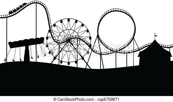 landschap, carnaval - csp6759871