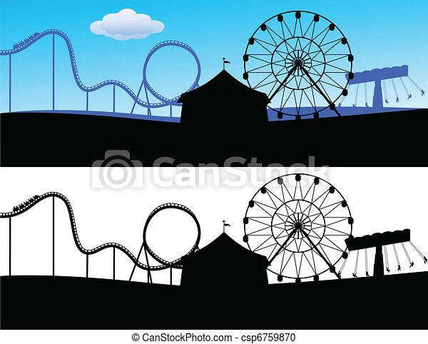 landschap, carnaval - csp6759870