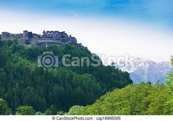 Landskron castle in Austria - csp16995005