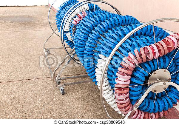 lane rope storage