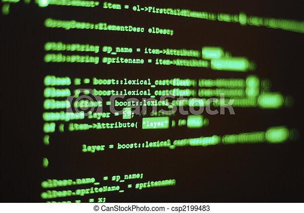 langage informatique, programme - csp2199483