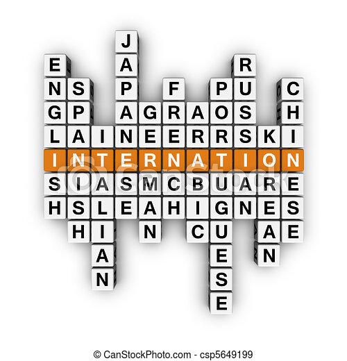 languages crossword - csp5649199