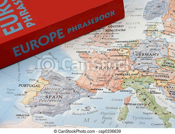 langues, européen - csp0336639