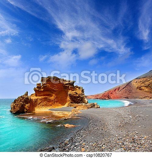 Lanzarote El Golfo Lago de los Clicos - csp10820767