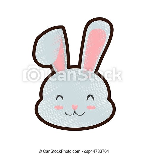 Lapin Clossed Paques Dessin Yeux
