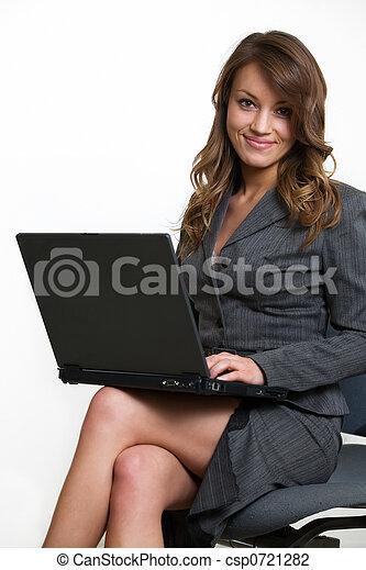 laptop , εργαζόμενος  - csp0721282