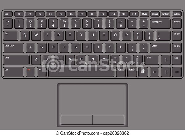 Line Art Laptop : Woman working on laptop computer continuous stock vector