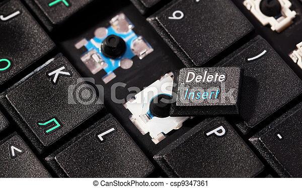 how to fix broken key laptop