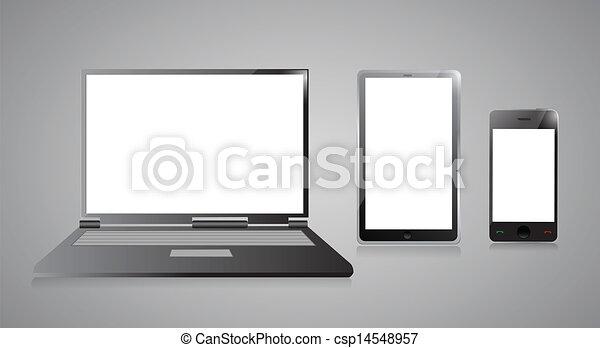 Line Art Laptop : Pen grey sideways laptop on the white background clipart search