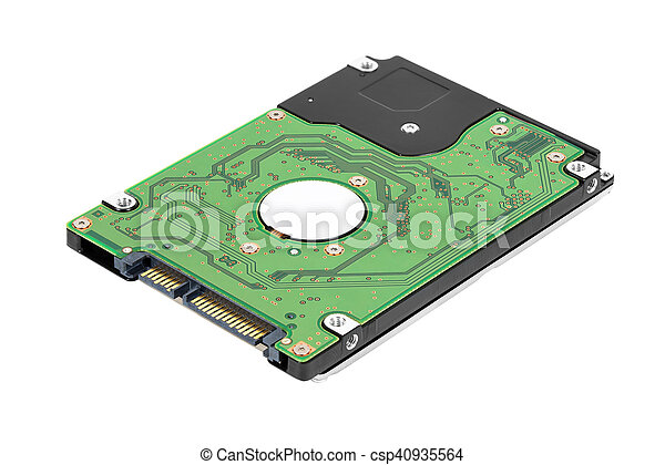 Laptop sata hard drive - csp40935564