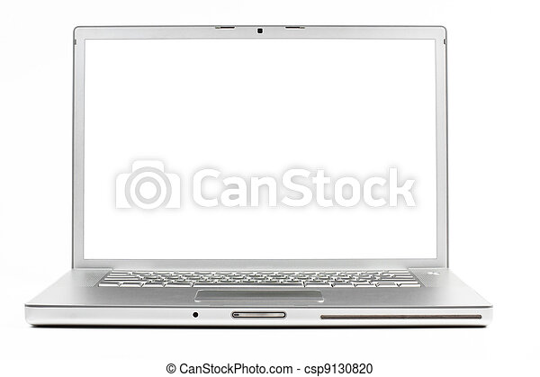 laptop, silber - csp9130820