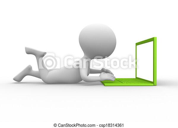 Laptop - csp18314361