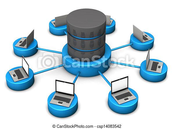 laptops, databank - csp14083542