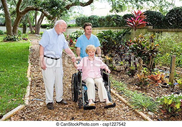 lar, amamentação, jardins - csp1227542