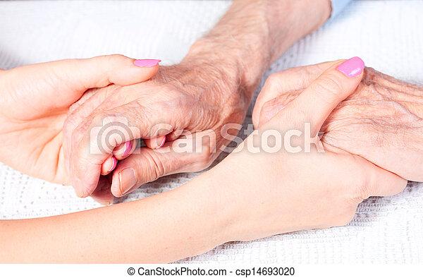 lar, cuidado idoso - csp14693020