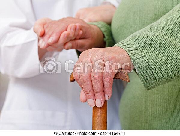 lar, cuidado idoso - csp14164711