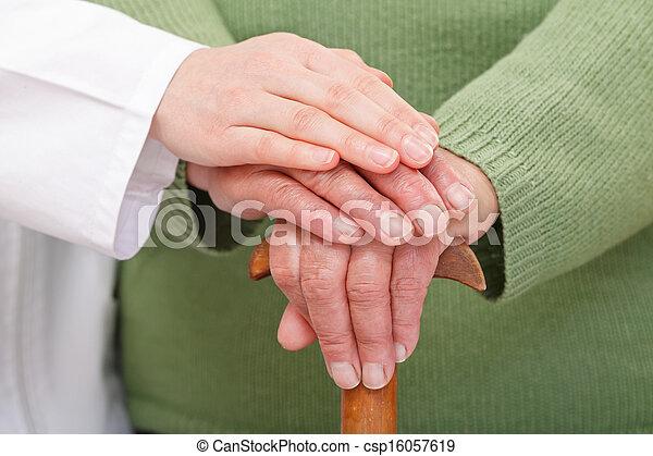 lar, cuidado idoso - csp16057619