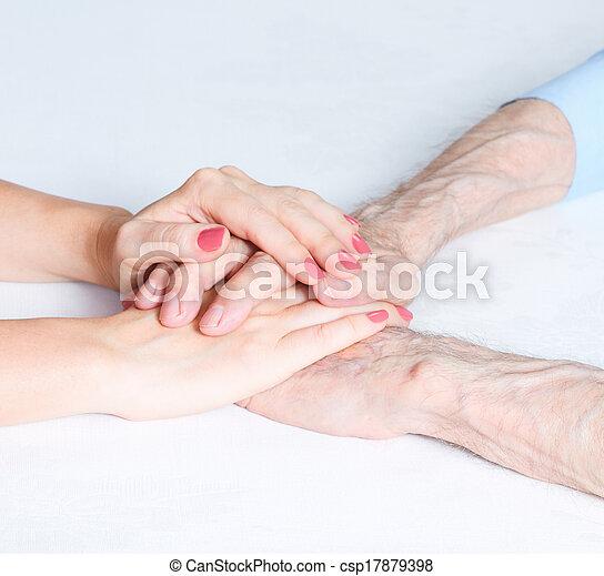 lar, cuidado idoso - csp17879398