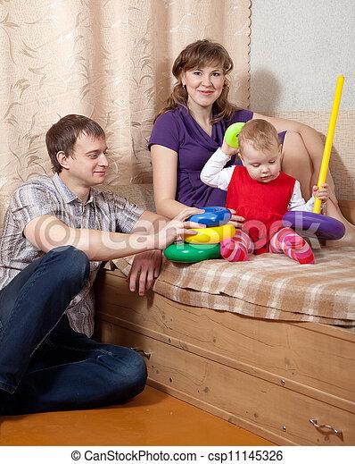 lar, família - csp11145326