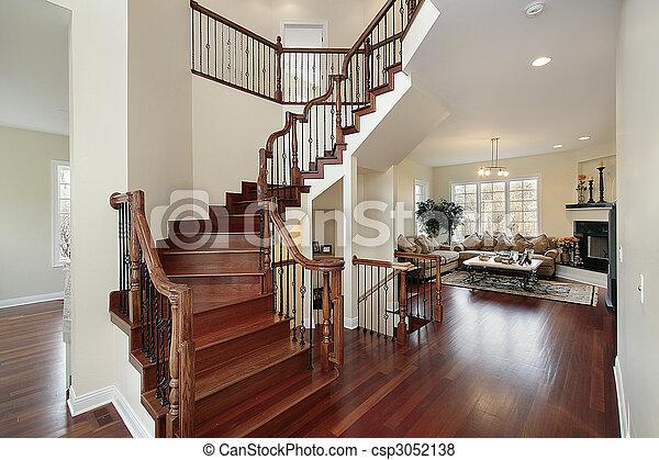lar, foyer, luxo - csp3052138