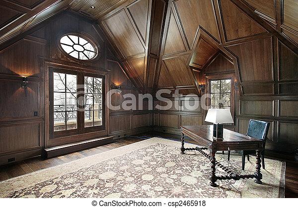 lar, luxo, escritório - csp2465918