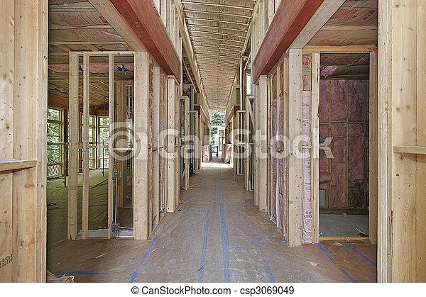 lar, novo, construção, sob - csp3069049