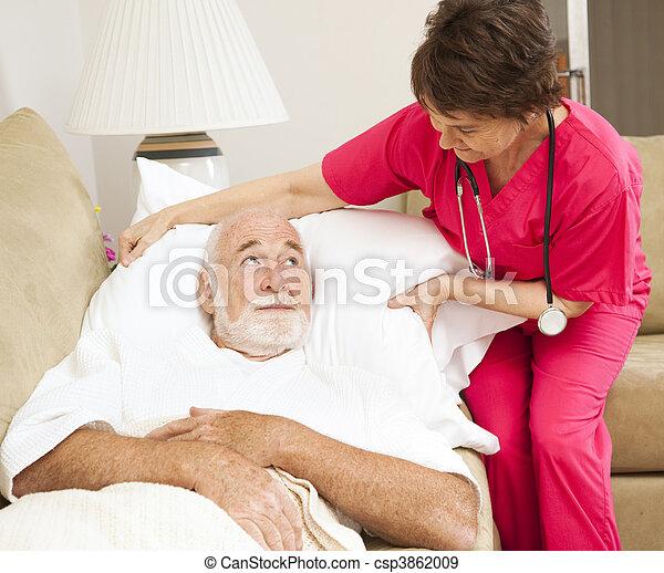 lar, saúde, -, paciente, conforto - csp3862009
