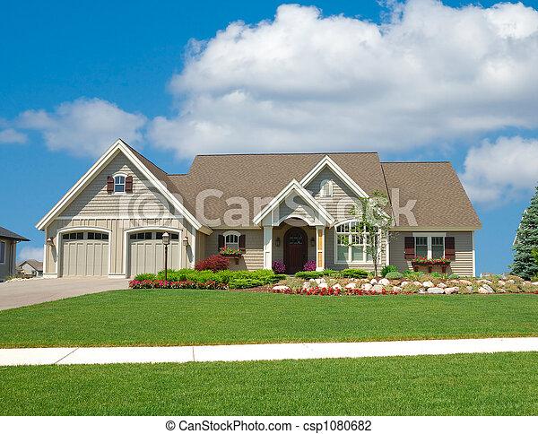 lar, suburbano - csp1080682