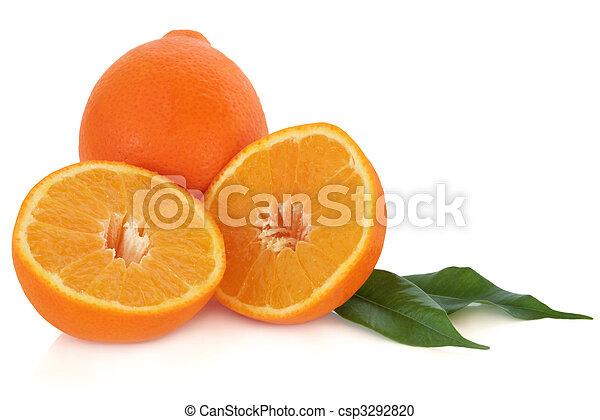 laranja, fruta - csp3292820
