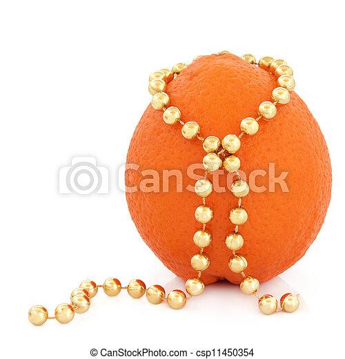 laranja, fruta, beleza - csp11450354