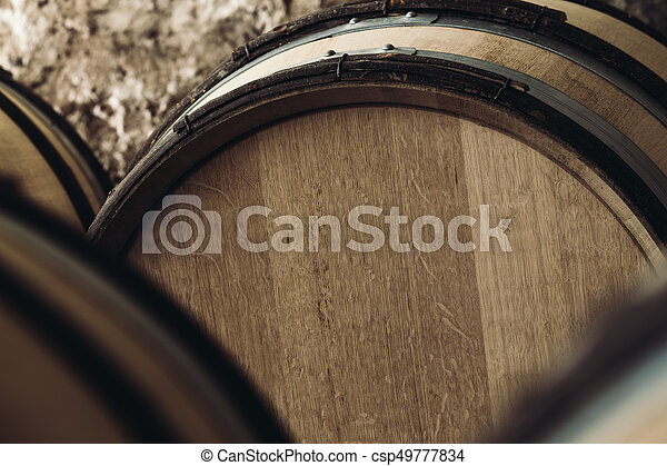 large barrels close-up - csp49777834