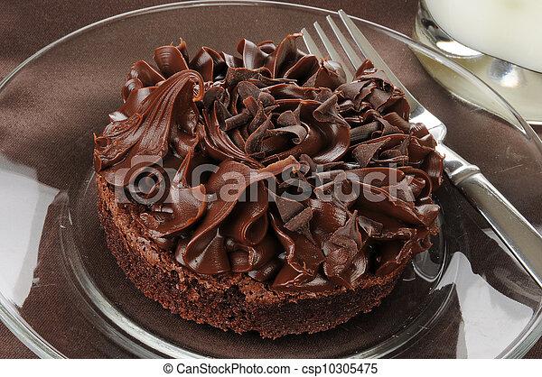 Large brownie - csp10305475