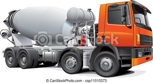 large concrete mixer - csp11010373