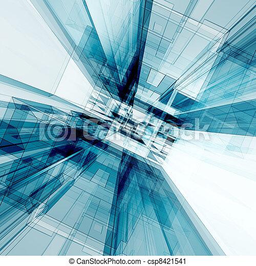 large, construction, angle - csp8421541