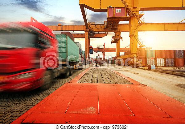 Large Container Terminal - csp19736021