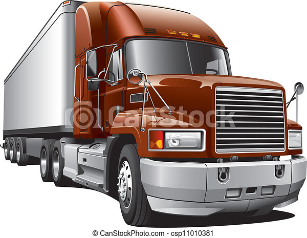 large delivery truck - csp11010381