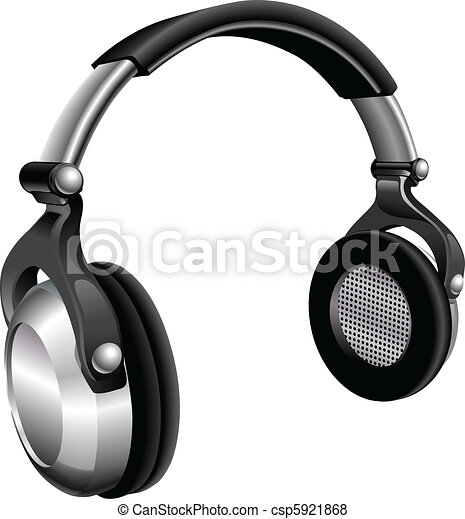Large DJ Headphones - csp5921868