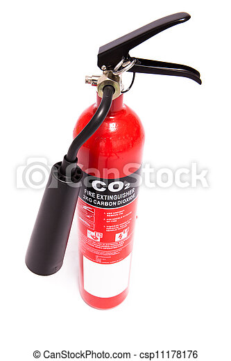 Large fire extinguisher - csp11178176