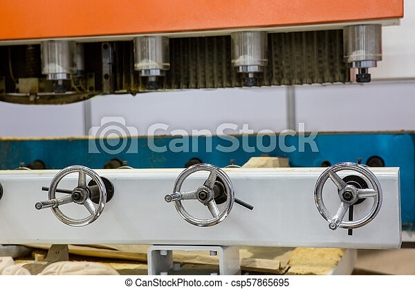 Large industrial tools in the factory. - csp57865695
