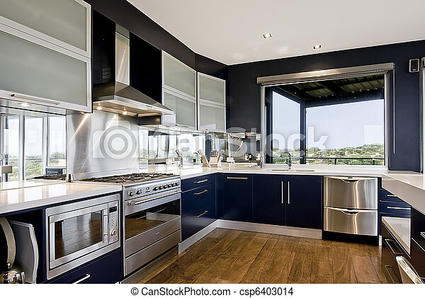 Large Kitchen - csp6403014