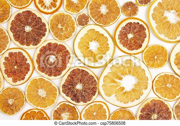 55 Dried Orange Slices