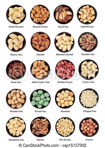 Large Nut Sampler - csp15137002
