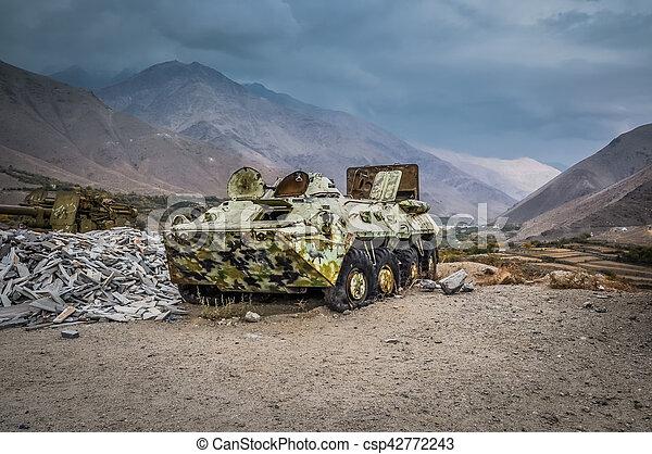 Large old tank - csp42772243