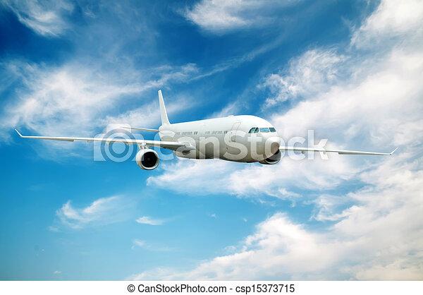 Large passenger plane - csp15373715