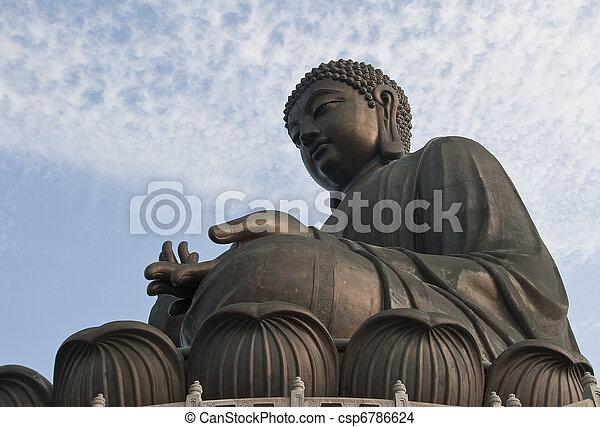 Large Seated Buddha - csp6786624