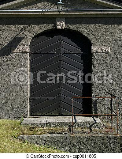 Large Steel Door - csp0011805
