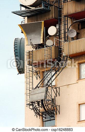 Large transmission tower - csp16248883