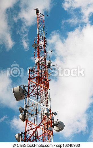 Large transmission tower - csp16248960